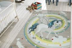 Çocuk ve Bebek Odası Halı Modelleri 8