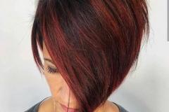 Kızıl Renk Saç Modelleri 10
