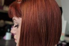 Kızıl Renk Saç Modelleri 14
