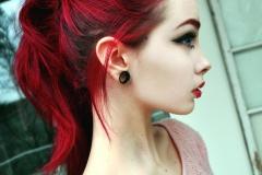 Kızıl Renk Saç Modelleri 16