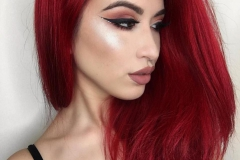 Kızıl Renk Saç Modelleri 18