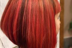 Kızıl Renk Saç Modelleri 2