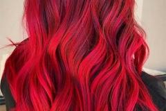 Kızıl Renk Saç Modelleri 20