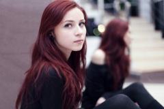 Kızıl Renk Saç Modelleri 23