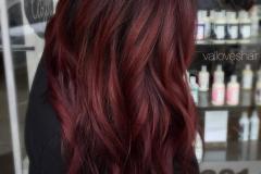 Kızıl Renk Saç Modelleri 24