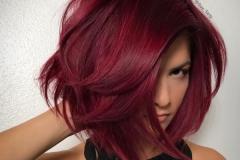 Kızıl Renk Saç Modelleri 27