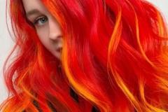 Kızıl Renk Saç Modelleri 28