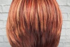 Kızıl Renk Saç Modelleri 3