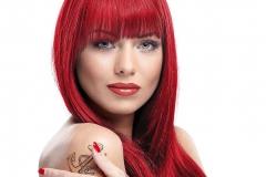 Kızıl Renk Saç Modelleri 30