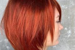 Kızıl Renk Saç Modelleri 4