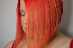 Kızıl Renk Saç Modelleri 5
