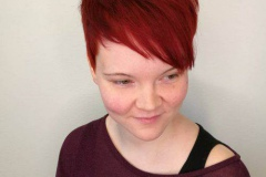 Kızıl Renk Saç Modelleri 6