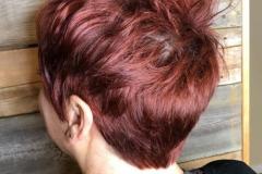 Kızıl Renk Saç Modelleri 7