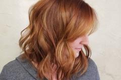 Kızıl Renk Saç Modelleri 8