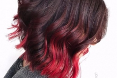 Kızıl Renk Saç Modelleri 9