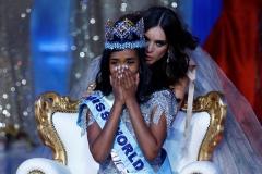 Dünya Güzeli Seçilen Jamaikalı Toni-Ann Singh