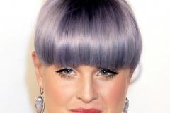Mor Renk Saç Modeli 14