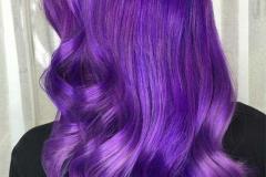 Mor Renk Saç Modeli 22