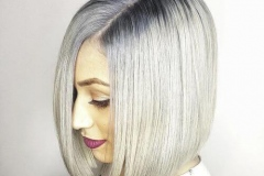 Platin Renk Saç Modelleri 1