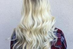 Platin Renk Saç Modelleri 10