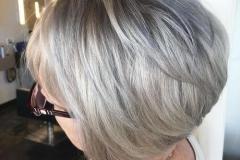 Platin Renk Saç Modelleri 11