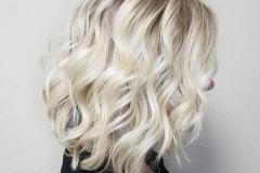Platin Renk Saç Modelleri 12