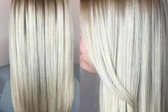 Platin Renk Saç Modelleri 13