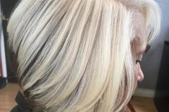 Platin Renk Saç Modelleri 14