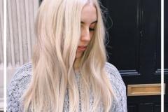 Platin Renk Saç Modelleri 15