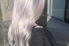 Platin Renk Saç Modelleri 16