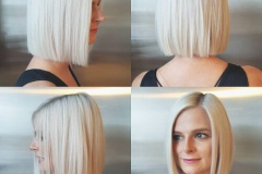 Platin Renk Saç Modelleri 17