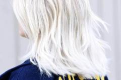 Platin Renk Saç Modelleri 19