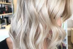 Platin Renk Saç Modelleri 22