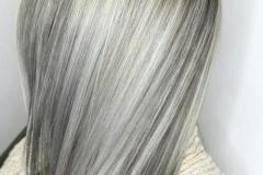 Platin Renk Saç Modelleri 24