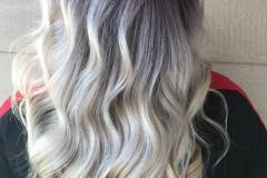 Platin Renk Saç Modelleri 26