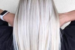 Platin Renk Saç Modelleri 27