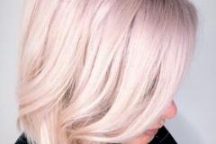 Platin Renk Saç Modelleri 28