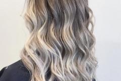 Platin Renk Saç Modelleri 3