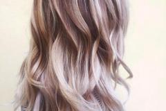 Platin Renk Saç Modelleri 4