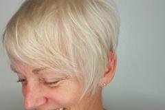 Platin Renk Saç Modelleri 5