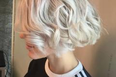Platin Renk Saç Modelleri 7