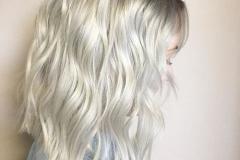 Platin Renk Saç Modelleri 8